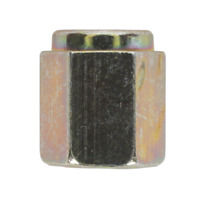 Brake Pipe Nut M10 x 1mm Short Female Pack of 25 SEALEY BN10100 by Sealey