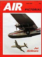 Air Pictorial Magazine 1985 June Sea King,SAAF Shackleton,B-29 Washington