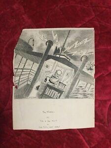 Original c1908 John T. McCUTCHEON editorial cartoon SIGNED Chicago Tribune