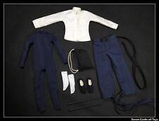 1/6 Custom Action Figure Accessory Bruce Lee Kung Fu Dragon Uniform Set