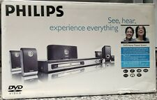 Philips HTS3400/37 DVD Home Theater System with 6 Speakers 700 Watts NO RESERVE!