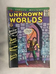 Unknown Worlds #37 Hard to Find Silver Age Comic!
