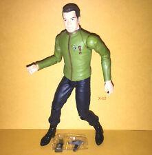 CAPTAIN KIRK in GREEN DRESS uniform STAR TREK TOS figure TOY tru ART ASYLUM