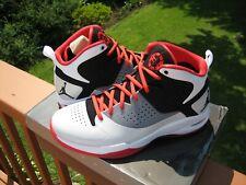"Jordan Fly Wade ""White"" 429486-601 Size 9 Pimento/Wht/Blk"