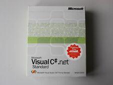Microsoft Visual C# .net 2003 Standard, englisch (SSL/AE/FULP) - neu, G78-00078