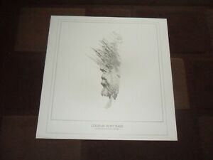 COLDPLAY. IN MY PLACE ORIGINAL LITHOGRAPH.