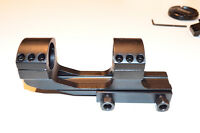 """25mm 1"""" Rings Cantilever Scope Mount - Flat top - 1"""" saddle height"""