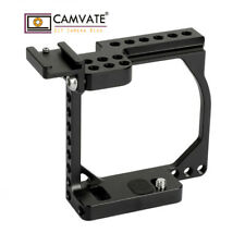 CAMVATE Camera Cage Rig Shoe Mount For Sony A6000 A6500 Canon EOS M M10 Aluminum