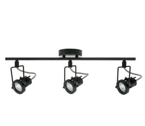Hampton Bay 1.975 ft. 3-Light Black LED Track Lighting Kit New