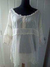 LADIES TUNIC SMOCK TOP FROM EVANS SIZE 22