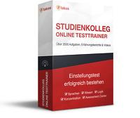 Studienkolleg Aufnahmetest Online-Testtrainer | erfolgreich bestehen!