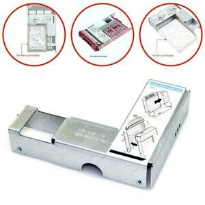 """FOR dell 9W8C4 3.5"""" to 2.5"""" Adapter For F238F 3.5"""" SAS/SATA Tray pcs Drive"""