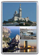 Marseille France Fridge Magnet 01