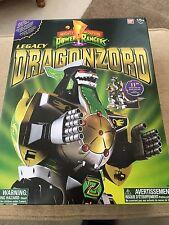 POWER Rangers VERDE Legacy Dragonzord Megazord NUOVO IN SCATOLA SIGILLATA + spedizione internazionale