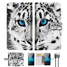 Leopard Wallet Case Cover For ZTE Blade A610-- A013