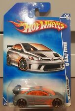 Hot Wheels 2009 - Honda Civic Si [Matte Grey] LONG CARD *12 CARS POSTED FOR $10*