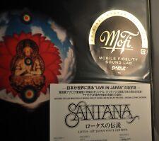 "SANTANA Lotus Orig. 2017 JAPAN 12"" VINYL LP Records x3 + 2 BONUS  Trks + SIJP-46"
