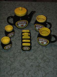 Marmite ceramic Teapot Breakfast set