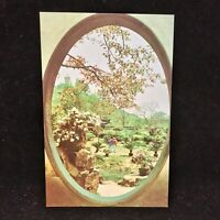 Vintage Post Card Chunsheng Garden China