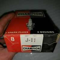 VTG NOS Champion Spark Plugs J-11 Qty. 8 Mopar 383 400 Dodge Plymouth Chrysler