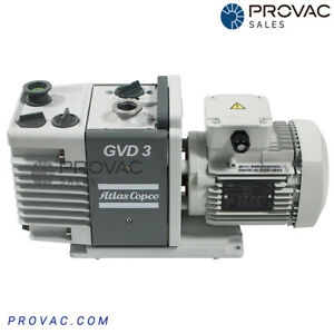 Atlas Copco GVD 3 Rotary Vane Pump, by Provac Sales, Inc.