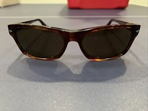 Persol 3037-S Brown Crystal Polarized Sunglasses
