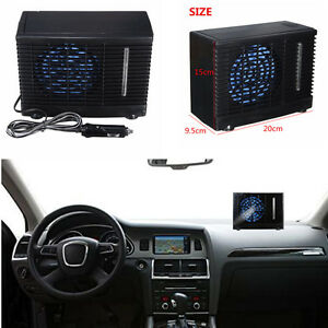 Portable 12V Auto Car Cooler Cooling Fan Water Ice Evaporative Air Conditioner