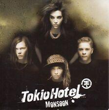 "TOKIO HOTEL ""MONSOON"" RARE CD SINGLE / AS NEW - BILL KAULITZ"