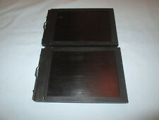 "2 Vintage  5""x7"" Wood Sheet Film Holder Eastman Film made by Graflex"