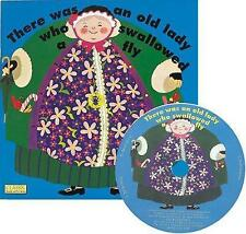 There Was an Old Lady Who Swallowed a Fly (Classic Books With Holes)-ExLibrary