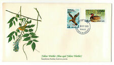 """Republic of Maldives 1985 Very Fine FDC """" Birds of the World """" Yellow Warbler"""