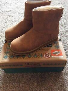 Skechers Womens Keepsakes 2.0 Cloud Peak Boots - Chestnut - UK 5