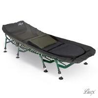 Lucx® 8 Bein Liege Bedchair 8 Bein Karpfenliege Angelliege Leicht U Stabil