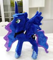 Princess Luna horse blue soft stuffed plush doll dolls toy christmas gift new