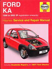 FORD KA: 1996 to 2002 HAYNES SERVICE & REPAIR MANUAL
