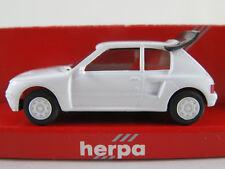 Herpa 2069 Peugeot 205 Turbo 16V (1984) in weiß 1:87/H0 NEU/OVP