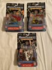 TRANSFORMERS ENERGON: LOT OF 3 OMNICON SKYBLAST, SIGNAL FLARE AND STRONG ARM NEW