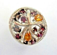 Garnet & Citrine Ring size 7.5