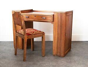 Beautiful Art Deco style Oak desk