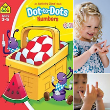 Kids Early Learning Coloring Book Age 3+ Learn Numbers 1-25 Count Sequencing