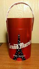La vie Grand Marnier Brandy Liqueur Red Tin Canister Marnier-Lapostolle  2011