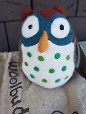 WOOLBUDDY Amelia Small OWL Handmade 100% Wool Felt - Brand New