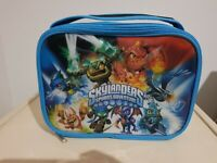 SKYLANDERS GIANTS SPYROS ADVENTURE SILVER BLUE BACKPACK RUCKSACK SCHOOL BAG NEW