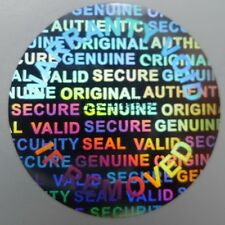 10000 Round 25 MM Serial Number Security Hologram Tamper Evident Warranty Labels