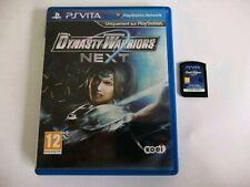 Dynasty Warriors Next Jeu Sony PlayStation Ps Vita psvita avec boite