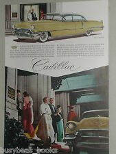 1956 Cadillac advertisement, Cadillac Sixty Special, Hotel Mark Hopkins San Fran