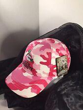 Duck Dynasty Adult Unisex Pink Camo Adjustable Cap Hat