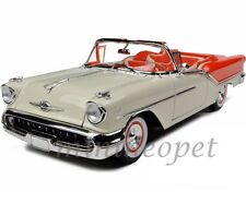 ROAD SIGNATURE 92758 1957 57 OLDSMOBILE SUPER 88 CONVERTIBLE 1/18 DIECAST ORANGE