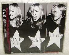 Madonna Give Me All Your Luvin' Taiwan CD w/OBI (MDNA) LMFAO Nicki Minaj M.I.A.