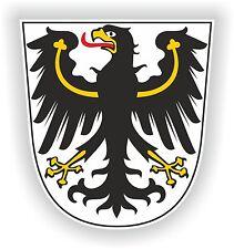East Prussia Ostpreußen Sticker Coat of Arms Teutonic Knights Crest Bumper Car